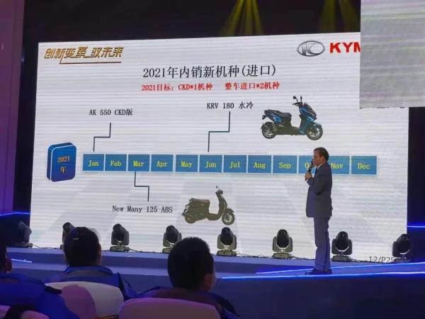 售价下调至8万多光阳旗舰踏板AK550