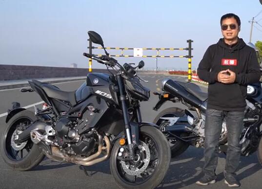 雅马哈MT-09,骑士网摩托车评测