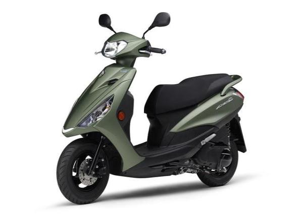 雅马哈2021款AXISZ踏板有新配色啦