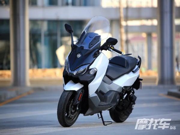 三阳双缸运动大踏板MAXSYMTL500实拍!