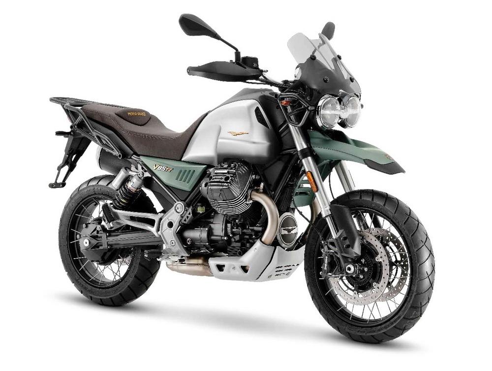 摩托古兹Moto GuzziV85TT Livrea Centenario  摩托古兹V85TT Livrea Centenario整车展示
