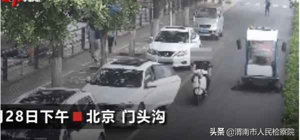 北京:男子开车门致摩托车主身亡获刑6个月