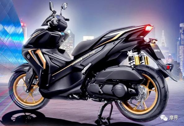 雅马哈发布新款Aerox155踏板