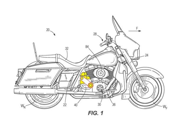 可选装?哈雷公开新的增压装置设计专利