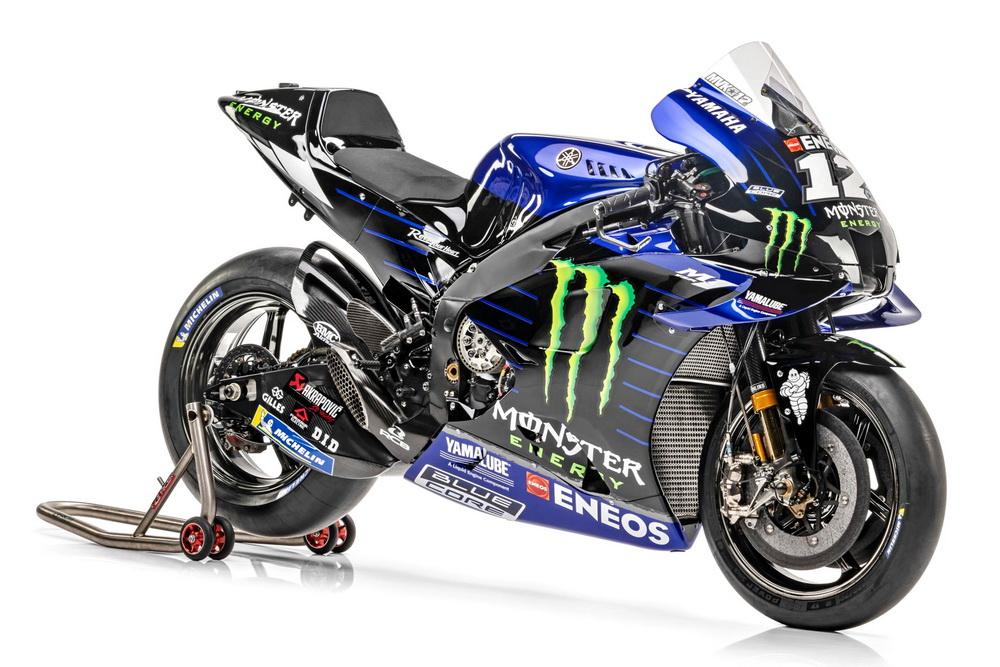 雅�R哈 YamahaYZR-M12021雅�R哈MotoGP工�S��YZR-M1 整�展示