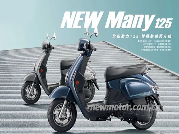 全新光阳New Many125 (进口)
