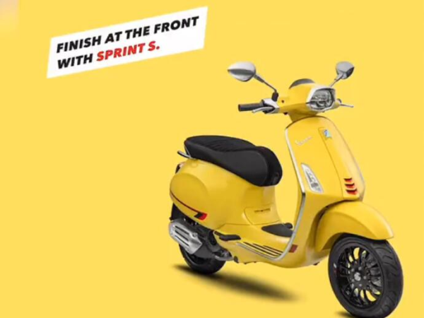 尽显王者之姿 Vespa Sprint S柠檬黄