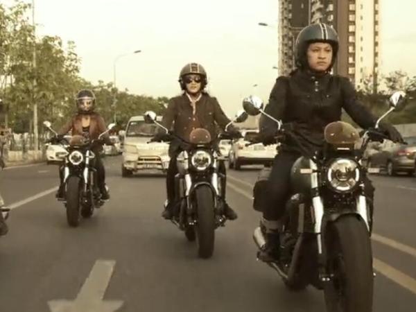 当女骑加入正装骑行...