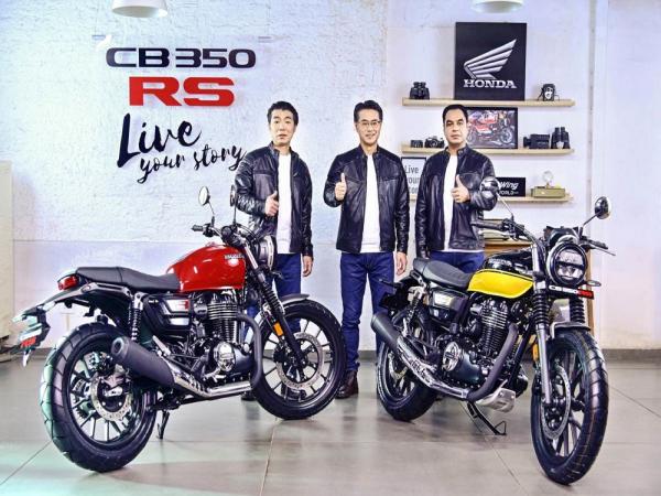 本田印度推出 CB350RS!