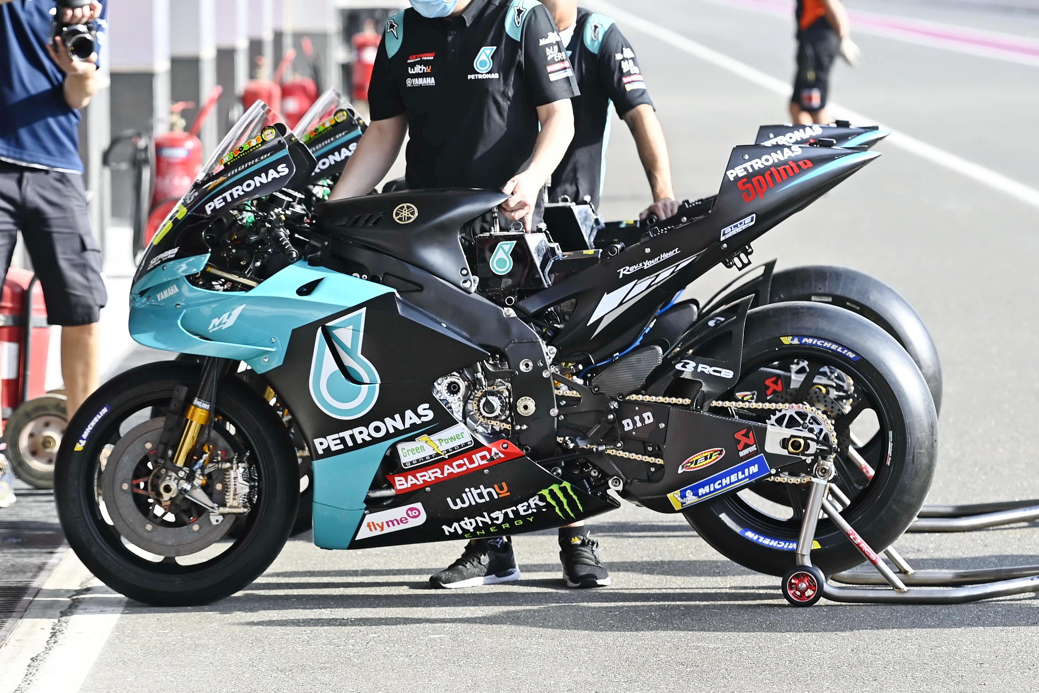 雅�R哈 YamahaYZR-M12021 MotoGP 季前�y�:VR46 ��特��