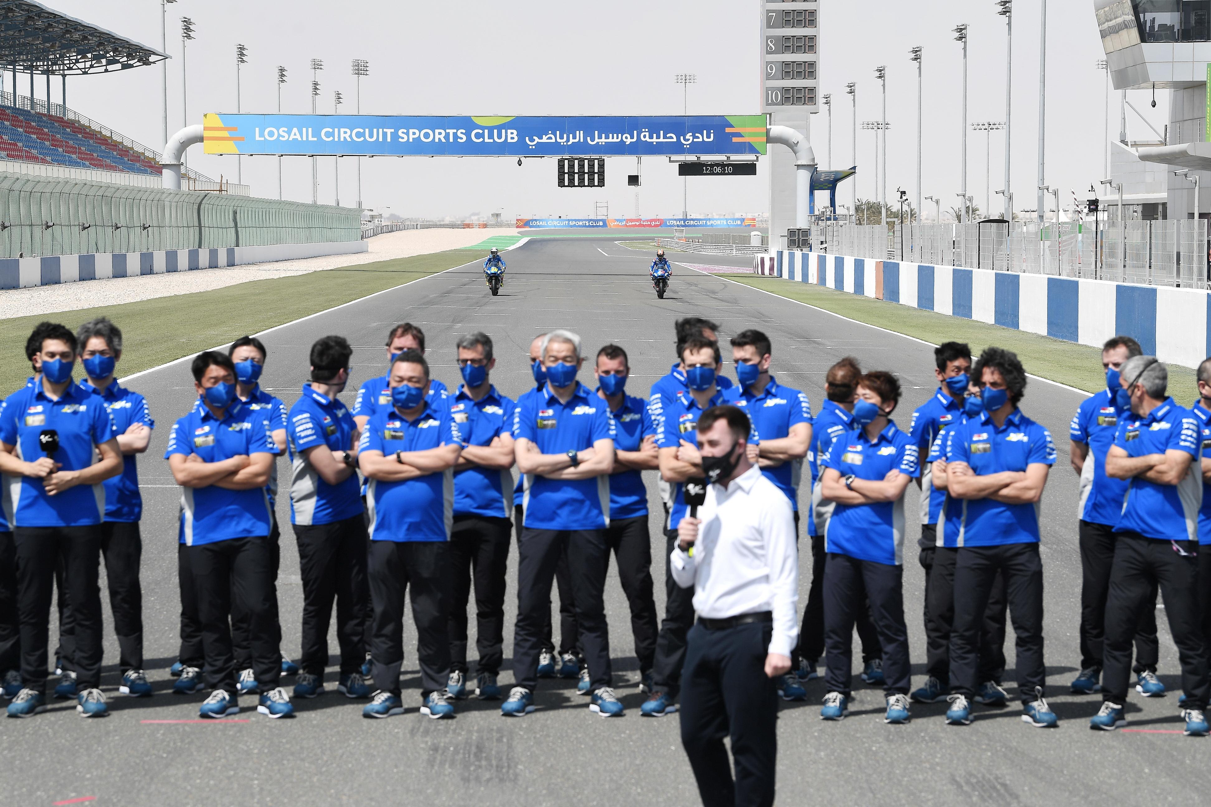 2021 MotoGP:卡塔��季前�y�、Suzuki �S�篇(1)