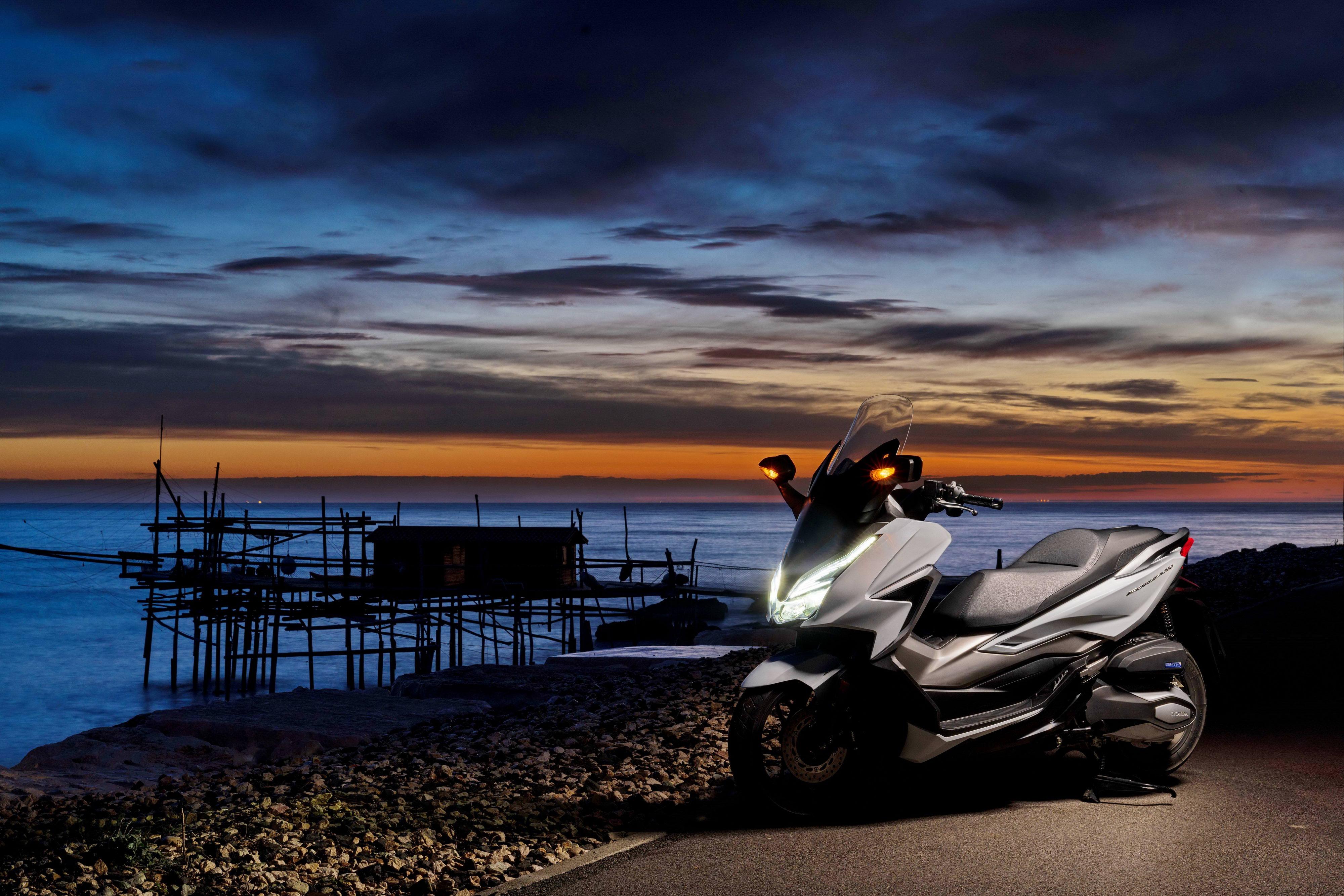 本田 Honda佛沙350Forza350高清:Honda 2021 Forza 350 �敉馓��