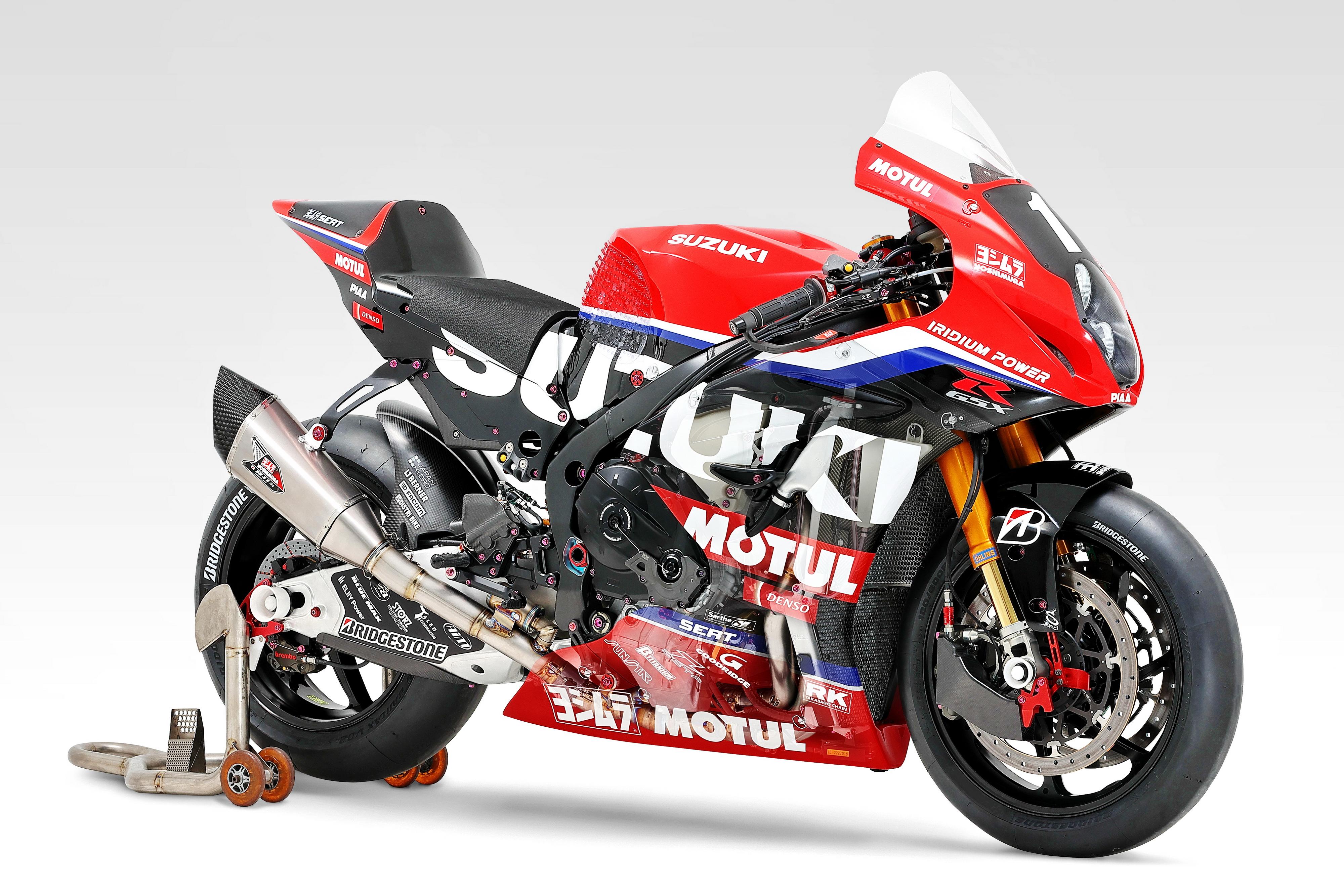 �木 SuzukiGSX-R1000R世界耐力� 2021 EWC �� GSX-R1000R