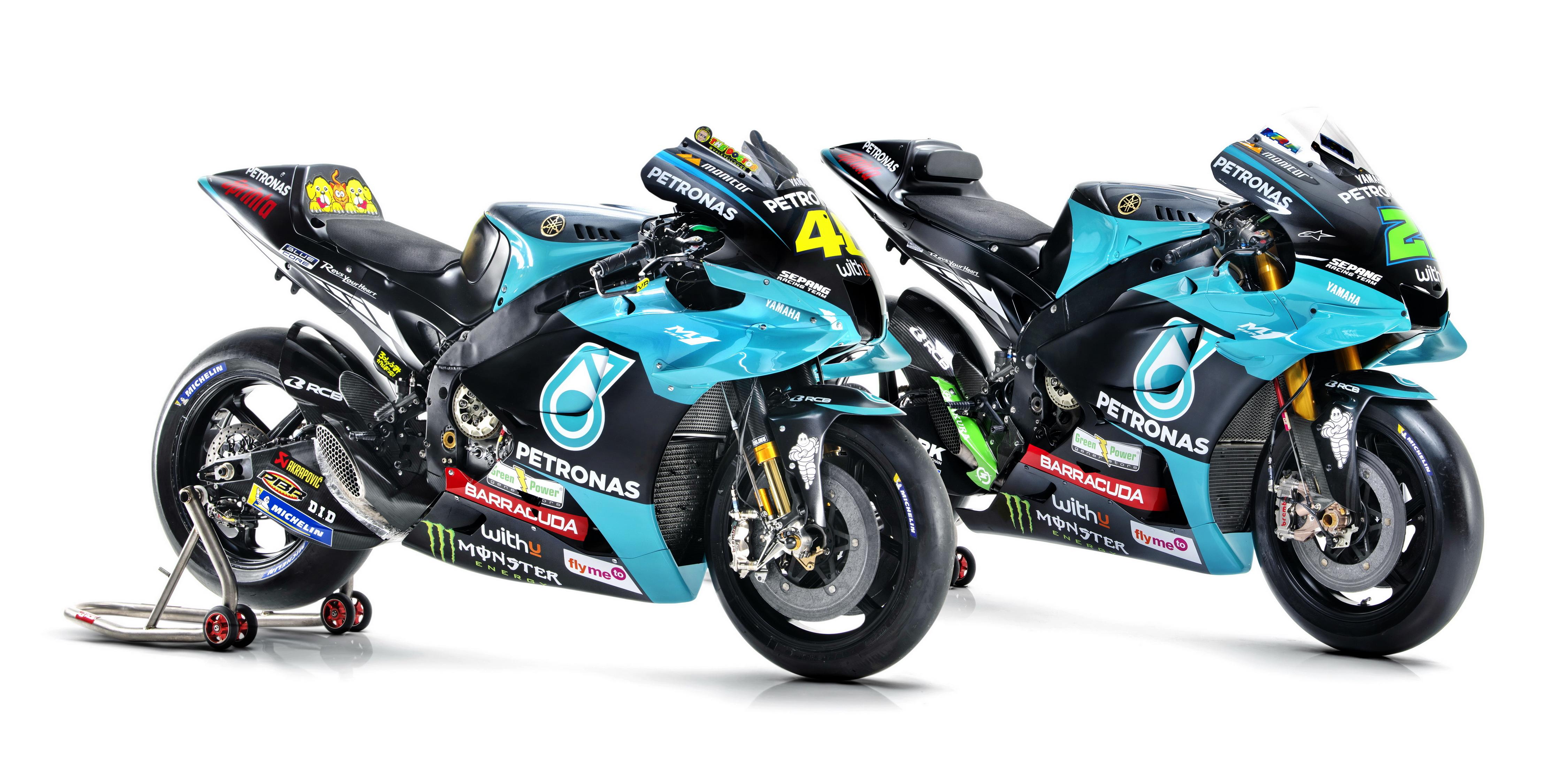 雅马哈 YamahaYZR-M1  马国油 Petronas SRT 车队 2021 YZR-M1