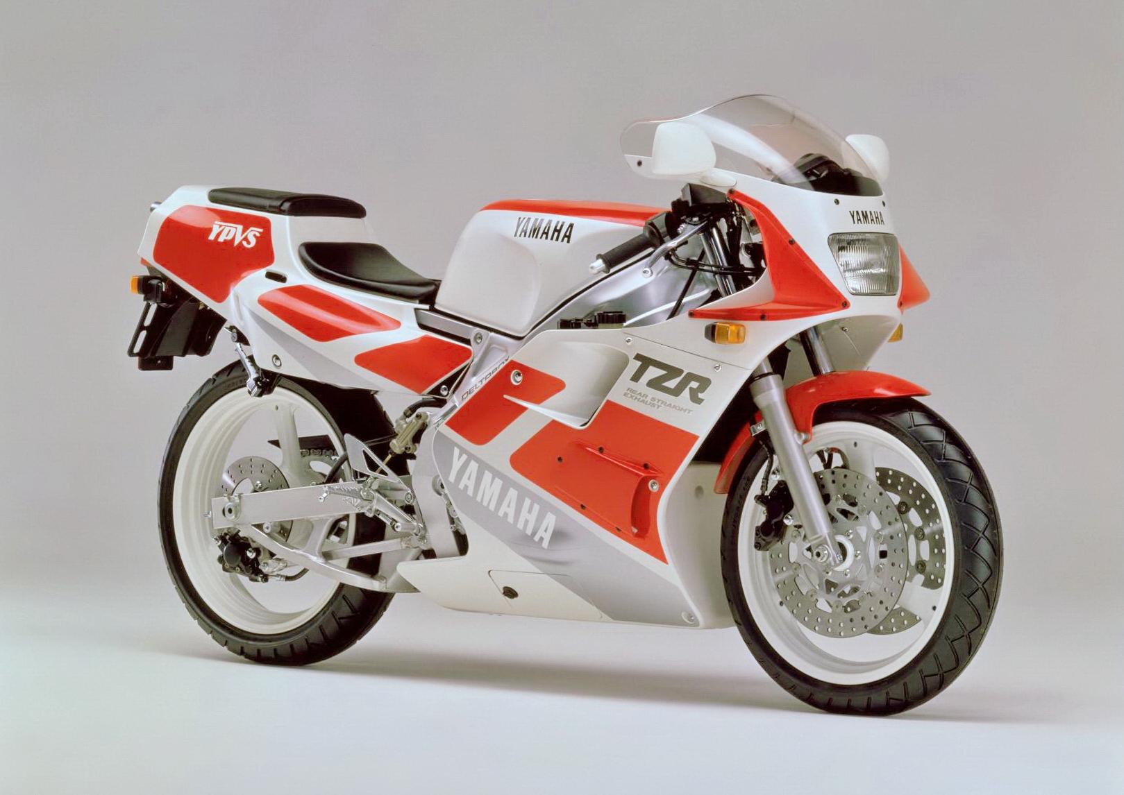 车型历史图库:Yamaha TZR250 第二代