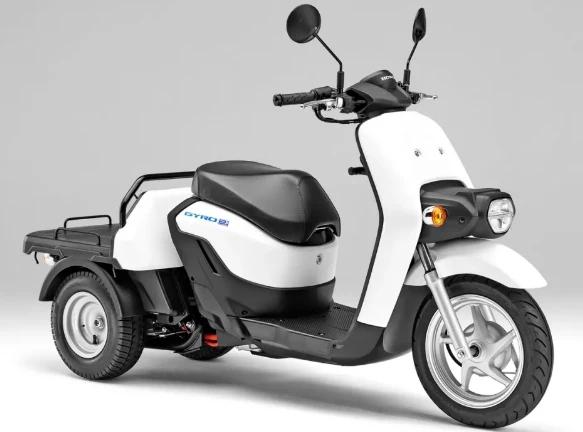 本田推出可更换电池的电动版2021GyroE
