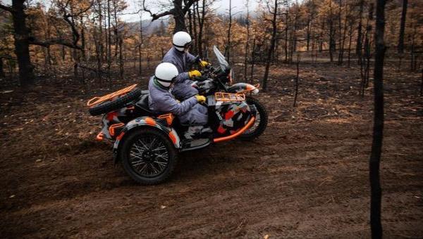 俄罗斯新型乌拉尔摩托车受加拿大媒体关注