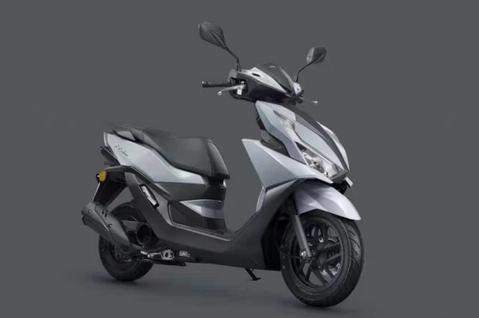 五羊-本田发布2021款NX125,新增水泥灰配色