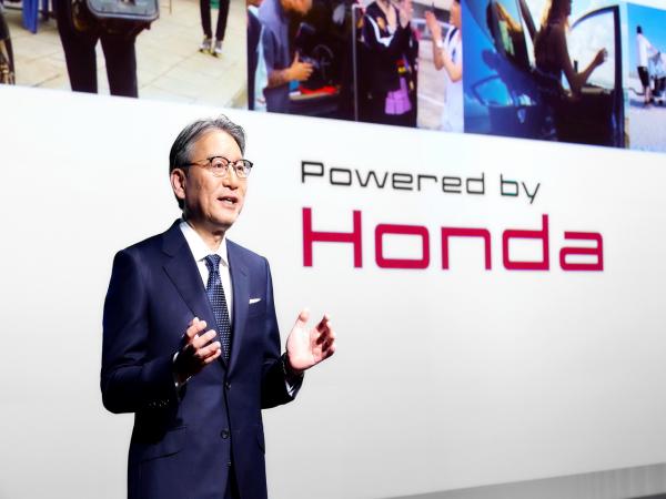 Honda 新任�裁�l表就��v�,��映�榻裹c��}