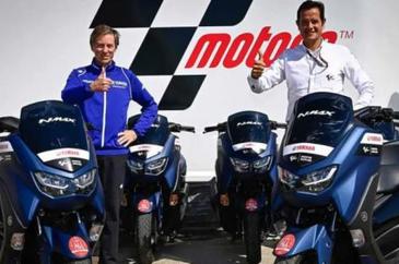 新款NMAX 125,雅马哈为MotoGP提供工作用车