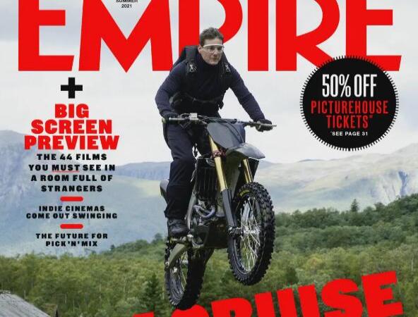 汤姆・克鲁斯摩托飞车登上《帝国Empire》