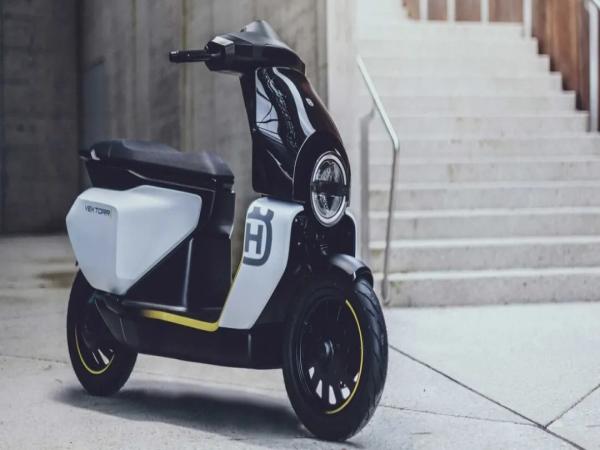 最高时速45km/h 胡斯瓦那公布第二款电动踏板Vektorr
