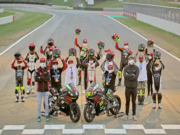 新增 RS250 SP2,阿普利亚扩大本土的青少年统一组赛事
