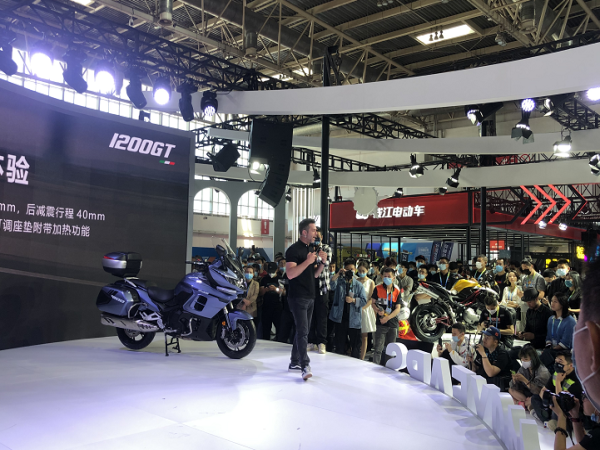北京摩展|Benelli发布1200GT等三款新车