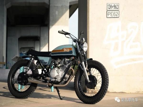 油箱,复古改装之灵魂!Yamaha SR150