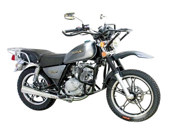 Suzuki GN 的越野版:GN125F Force TT