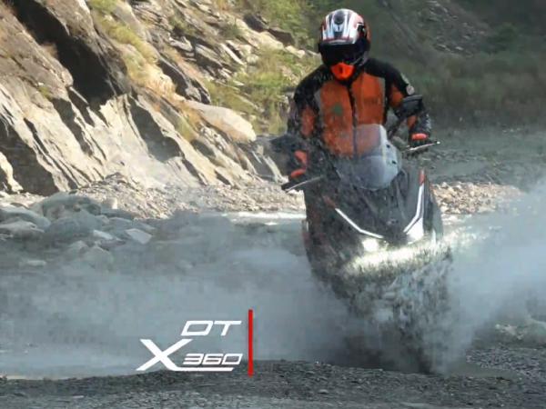 ADV冒险王者设计DTX360即将与你开启探险之旅