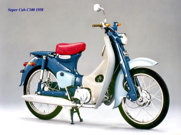 Honda Super Cub 的小故事和�h古�史