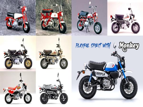 "Honda Monkey ""猴子"" 六十年�史(上)"