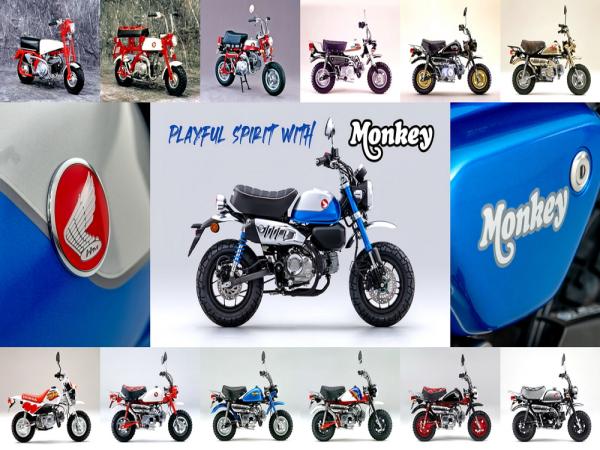 "Honda Monkey "" 猴子 "" 六十年�史(下)"