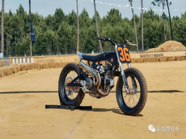改装赏析 | Ducati Flat Track