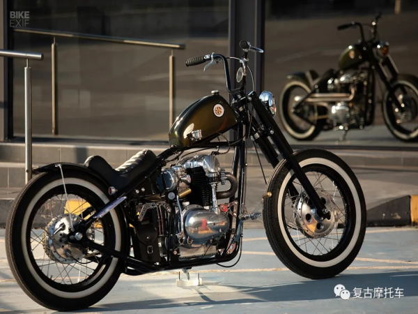 Kawasaki W650 bobber | 每日一车