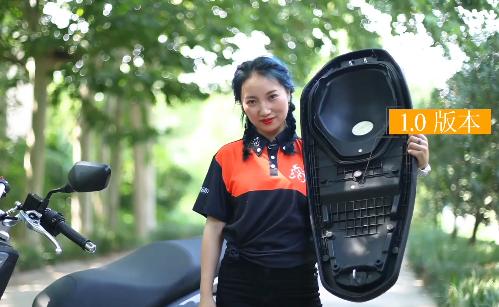 大阳Vi-Core2.0版本V锐150升级之座垫密封性