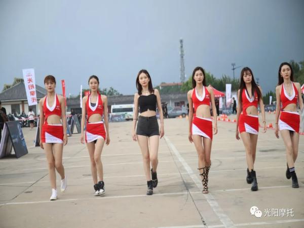 2021光阳摩托山东重车大会师模特秀