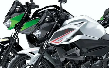 川崎Z400更新2022款,提供两种新颜色