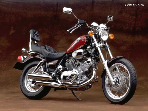 �� 1000 到 1900,Yamaha XV/XVS 旗��巡航��史(上)