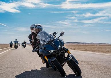 雅马哈Niken GT和TMAX 560边塞之旅骑行体验!