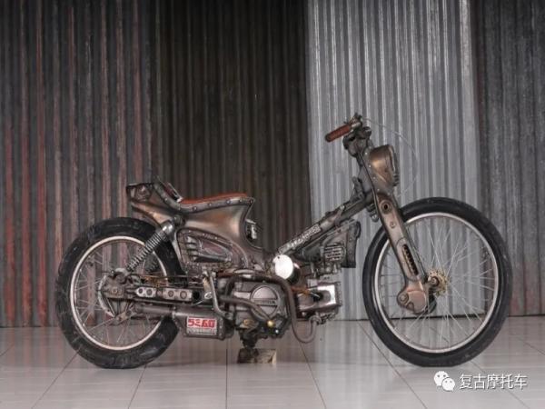这难以抗拒的细节:Honda CUB