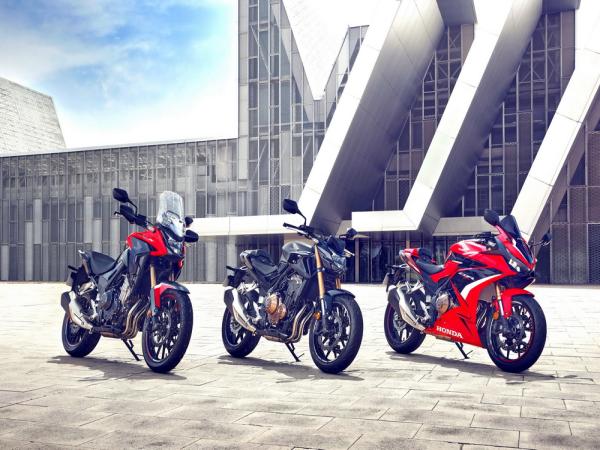 Honda �l布 2022 CB500F、CB500X、CBR500R