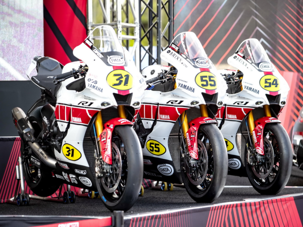 WSBK 2021 巴塞�_那站:Yamaha ��� GP 六十周年�o念�D案