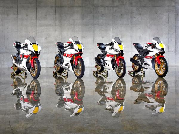 Yamaha WGP �①�六十周年版 2022 YZF-R 跑�系列