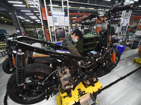 总额占全国逾3成 重庆摩托车产销逆势增长