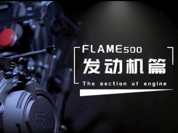 高金Flame500性能挖掘系列-发动机篇