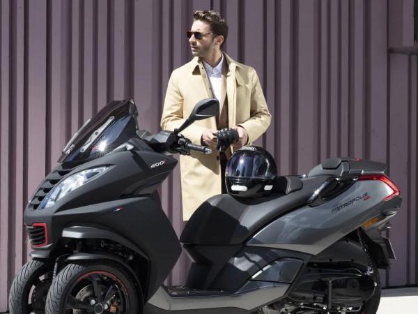 Metropolis 市场上技术最先进的三轮摩托车之一