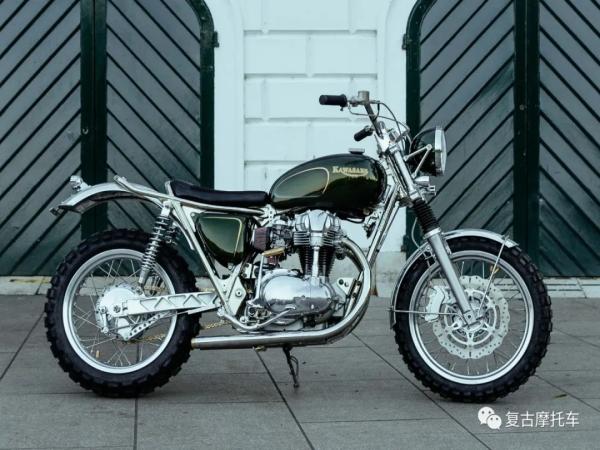 川崎最好看的车:Kawasaki W650