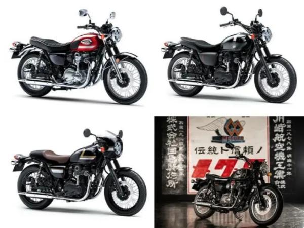 川崎日本发布2022款W800系列